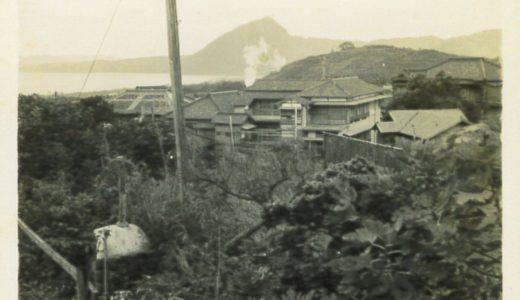 高台から見た高崎山